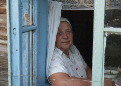 Baba Nastia, Perebrody. Fot. Oleksiy Nahornyuk
