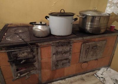 Kuchnia w świetlicy w Witaszewicach. Fot. Joanna Skowrońska