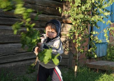 Przygotowania do Kusta (tradycyjne święto okresu wiosenno-letniego), Swarycewicze 2010. Fot. Oleksiy Nahornyuk