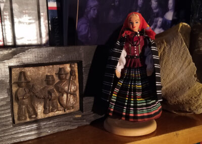 Strój radomski – wzór lalki opracowany z inicjatywy autora. Fot. Łukasz Zaborowski