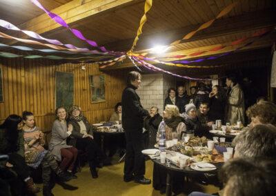 Potańcówka w świetlicy w Pogorzelcach. Fot. Gutek Zegier