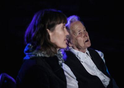 Janina Pydo i Agnieszka Szokaluk-Gorczyca w Hoszni Ordynackiej, 2020. Fot. Marcin Pietrusza