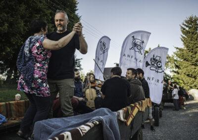 Fura na Festiwalu Fanfara, Gilów 2020. Fot. Marcin Pietrusza
